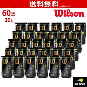 Wilson ウイルソン US OPEN EXTRA DUTY PROMO BALL USオープン・エクストラ・デューティ プロモ 1箱=30缶〔60球〕WRT1000J3PR テニスボール 『即日出荷』|sportsjapan