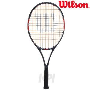 ウイルソン Wilson テニスラケット ジュニア BURN 25 バーン25 WRT209300 「KPI」「2017新製品」「ガット張り上げ済み」|sportsjapan