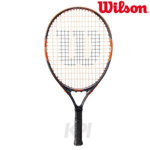 『即日出荷』「2017新製品」「ガット張り上げ済み」Wilson ウイルソン 「BURN Team 21 バーンチーム21  WRT209600」ジュニアテニスラケット|sportsjapan