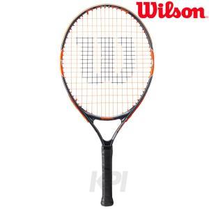 『即日出荷』「2017新製品」「ガット張り上げ済み」Wilson ウイルソン 「BURN Team 23 バーンチーム23  WRT209700」ジュニアテニスラケット|sportsjapan