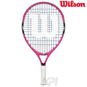 『即日出荷』「ガット張り上げ済み」Wilson ウイルソン 「BURN PINK 19 バーンピンク19  WRT217900」ジュニアテニスラケット|sportsjapan