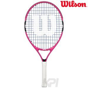 「ガット張り上げ済み」Wilson ウイルソン 「BURN PINK 23 バーンピンク23  WRT218100」ジュニアテニスラケット|sportsjapan