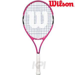 「2017新製品」「ガット張り上げ済み」Wilson ウイルソン 「BURN Pink 25 バーンピンク25  WRT218200」ジュニアテニスラケット|sportsjapan