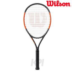 「2017新製品」「ガット張り上げ済み」Wilson ウイルソン 「BURN 26S バーン26S  WRT534100」ジュニアテニスラケット|sportsjapan