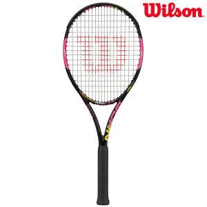『即日出荷』Wilson ウイルソン 「BURN 100LS PINK バーン100LSピンク  WRT723920」硬式テニスラケットKPI+|sportsjapan