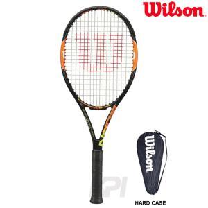 『即日出荷』Wilson ウイルソン 「BURN 100TEAM バーン100チーム  WRT725810」硬式テニスラケット スマートテニスセンサー対応  KPI+ sportsjapan