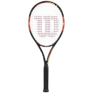 『即日出荷』 Wilson ウイルソン 「BURN 100 バーン100  WRT727020」硬式テニスラケット スマートテニスセンサー対応 KPI+|sportsjapan