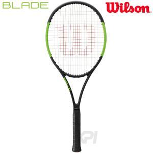 「2017新製品」Wilson ウイルソン 「BLADE 104  ブレイド104  WRT733310」硬式テニスラケット スマートテニスセンサー対応 「KPI」|sportsjapan