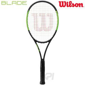 「2017新製品」Wilson ウイルソン 「BLADE 98L 16×19   ブレイド98L  WRT733610」硬式テニスラケット スマートテニスセンサー対応 「KPI」|sportsjapan