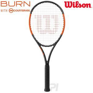 「2017新製品」Wilson ウイルソン 「BURN 100S COUNTERVAIL バーン100S カウンターヴェイル  WRT734210」硬式テニスラケット スマートテニスセンサー対応|sportsjapan