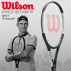 「グリップ3本プレゼント」ウイルソン Wilson テニス硬式テニスラケット  プロスタッフ RF 97 オートグラフ  PRO STAFF RF97 Autograph WRT741720|sportsjapan