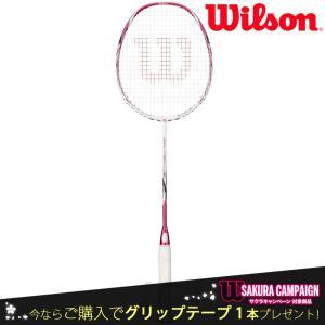 『即日出荷』「2017新製品」Wilson ウイルソン 「FIERCE CX 9000J-Cherry Blossom フィアースCX9000J  WRT8801202」バドミントンラケット|sportsjapan