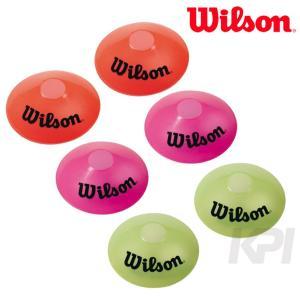 Wilson ウイルソン EZ イージー マーカーコーン 3色×各2個=6個セット WRZ259400|sportsjapan