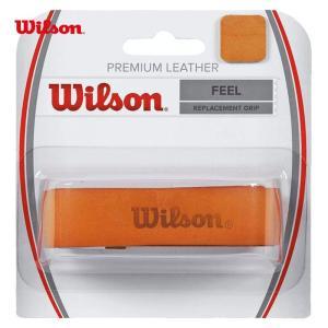 Wilson ウイルソン 「PREMIUM LELATHER プレミアムレザー WRZ420100」リプレイスメントグリップテープ|sportsjapan