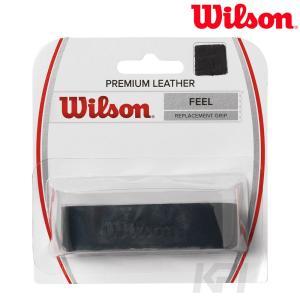 「2017新製品」Wilson ウイルソン 「PREMIUM LEATHER プレミアムレザー  WRZ470300」リプレイスメントグリップテープ|sportsjapan