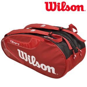ウイルソン Wilson テニスバッグ・ケース  TEAM J 2.0 9 PACK チームJ 2.0 9PACK ラケットバッグ WRZ621806 2月上旬発売予定※予約|sportsjapan