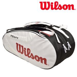 ウイルソン Wilson テニスバッグ・ケース  TEAM J 2.0 9 PACK チームJ 2.0 9PACK ラケットバッグ WRZ624806 『即日出荷』|sportsjapan