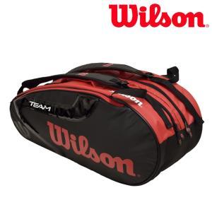 ウイルソン Wilson テニスバッグ・ケース  TEAM J 2.0 9 PACK チームJ 2.0 9PACK ラケットバッグ WRZ627806 2月上旬発売予定※予約|sportsjapan