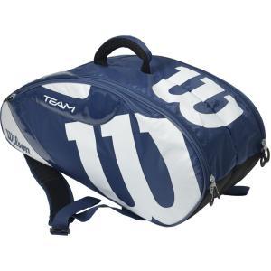「2017新製品」Wilson ウィルソン [TEAM JP 6 PACK NYWH WRZ640706]テニスバッグ『即日出荷』|sportsjapan