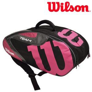 ウイルソン Wilson テニスバッグ・ケース  TEAM J 6 PACK チームJ6パック ラケットバッグ WRZ640806|sportsjapan