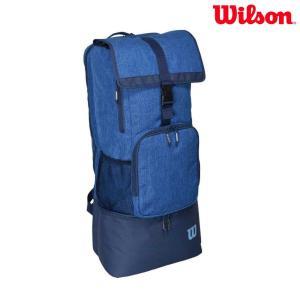 ウイルソン Wilson テニスバッグ・ケース  テニスバッグ LONG BACKPACK ll ブルー WRZ640896|sportsjapan