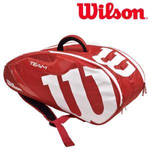 ウイルソン Wilson テニスバッグ・ケース  TEAM J 6 PACK チームJ6パック ラケットバッグ WRZ641806 『即日出荷』|sportsjapan