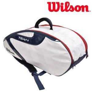ウイルソン Wilson テニスバッグ・ケース  TEAM J 6 PACK チームJ6パック ラケットバッグ WRZ642806 『即日出荷』|sportsjapan