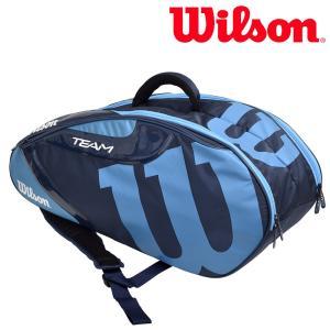 ウイルソン Wilson テニスバッグ・ケース  TEAM J 6 PACK チームJ6パック ラケットバッグ WRZ643806|sportsjapan