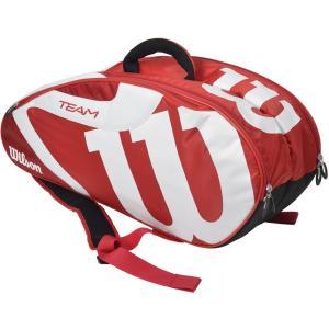 「2017新製品」Wilson ウィルソン [TEAM JP 6 PACK RDBKWH WRZ647706]テニスバッグ『即日出荷』|sportsjapan