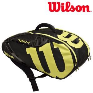 ウイルソン Wilson テニスバッグ・ケース  TEAM J 6 PACK チームJ6パック ラケットバッグ WRZ647806 『即日出荷』|sportsjapan