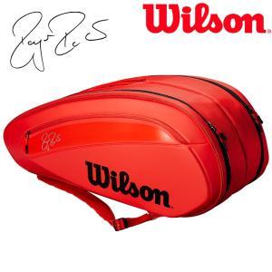 ウイルソン Wilson テニスバッグ・ケース  FEDERER DNA 12 PACK ラケットバッグ 12本入  WRZ830812『即日出荷』|sportsjapan