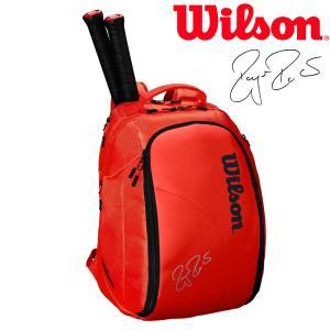 ウイルソン Wilson テニスバッグ・ケース  FEDERER DNA BACKPACK バックパック 2本入  WRZ830896『即日出荷』|sportsjapan