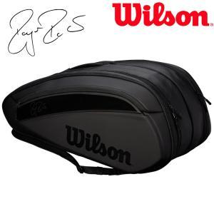 ウイルソン Wilson テニスバッグ・ケース  FEDERER DNA 12 PACK ラケットバッグ 12本入  WRZ832812『即日出荷』|sportsjapan