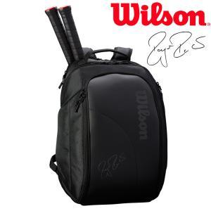 ウイルソン Wilson テニスバッグ・ケース  FEDERER DNA BACKPACK バックパック 2本入  WRZ832896|sportsjapan