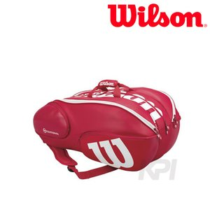 『即日出荷』「2017新製品」Wilson ウィルソン 「Vancouver 15Pack RDWH WRZ840715」テニスバッグ|sportsjapan