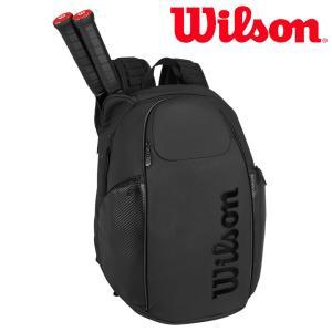 ウイルソン Wilson テニスバッグ・ケース  VANCOUVER BACKPACK BLACK EDITION バンクーバー バックパック WRZ841896 3月上旬発売予定※予約|sportsjapan