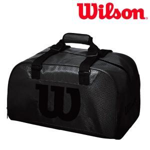 ウイルソン Wilson テニスバッグ・ケース  WILSON BLACK DUFFEL SMALL BLACK EDITION WRZ842891|sportsjapan