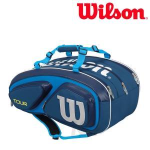 『即日出荷』Wilson ウイルソン 「TOUR V 15 PACK ツアー・ブイ・15パック ラケットバッグ WRZ843615」テニスバッグ|sportsjapan
