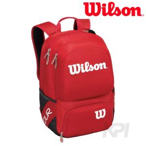 Wilson ウイルソン 「TOUR V BACKPACK MEDIUM RD ツアーVバックパックM ラケットバッグ WRZ843695」テニスバッグ|sportsjapan