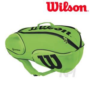 「2017新製品」Wilson ウィルソン 「Vancouver 9Pack  GRBK WRZ845709」テニスバッグ|sportsjapan
