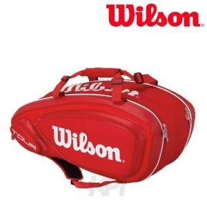 Wilson ウイルソン 「TOUR V 9 PACK ツアー・ブイ・9パック ラケットバッグ WRZ847609」テニスバッグ『即日出荷』|sportsjapan