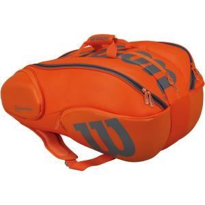 「2017新製品」Wilson(ウィルソン)[VANCOUVER 15 PACK ORGY WRZ849715]テニスバッグKPI+|sportsjapan