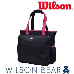 ウイルソン Wilson テニスバッグ・ケース  BEAR TOTE 11POCKETS ベアートート11ポケット WRZ861897 2月上旬発売予定※予約|sportsjapan