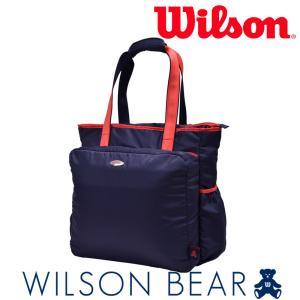 ウイルソン Wilson テニスバッグ・ケース  BEAR TOTE 11POCKETS ベアートート11ポケット WRZ867897 『即日出荷』|sportsjapan