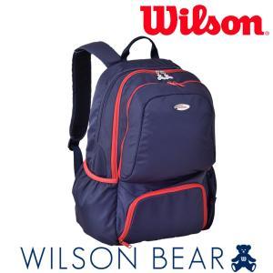 ウイルソン Wilson テニスバッグ・ケース  BEAR BACKPACK 12POCKETS ベアーバックパック12ポケット WRZ872896 2月上旬発売予定※予約|sportsjapan