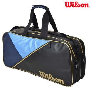 ウイルソン Wilson テニスバッグ・ケース  テニスバッグ RECTANGLE BAG IV ネイビー WRZ894500|sportsjapan