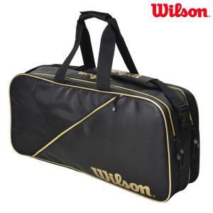 ウイルソン Wilson テニスバッグ・ケース  テニスバッグ RECTANGLE BAG IV ブラック WRZ894600|sportsjapan