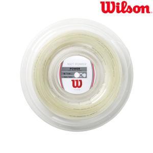 ウイルソン Wilson テニスガット・ストリング  NXT POWER 16 REEL 200M  NXT パワー 16 WRZ912600|sportsjapan