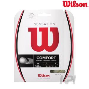 Wilson ウイルソン 「SENSATION 16 WRZ941000」硬式テニスストリング ガット 「KPI」[ポスト投函便対応]|sportsjapan