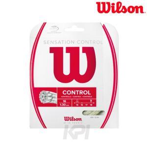 Wilson ウイルソン 「SENSATION CONTROL センセーション・コントロール  WRZ941200」硬式テニスストリング ガット 「KPI」|sportsjapan
